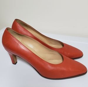 Gucci Vintage Leather Heels